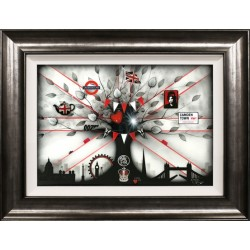 Kealey Farmer - New Best of British 'London Love' - Limited Edition Print