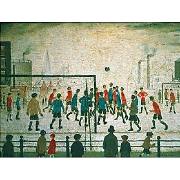 L S Lowry - The Football Match