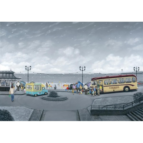 Leigh Lambert - All Aboard For The Seaside Deluxe (Canvas)