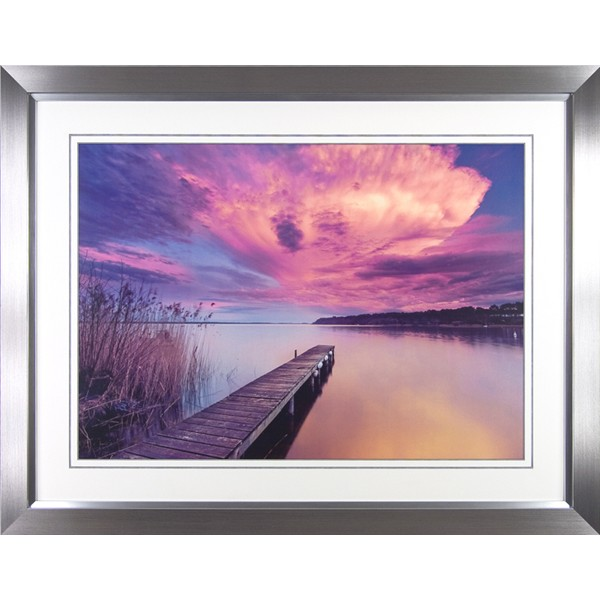 Arnaud Bertrande - Light Storm I Framed Print