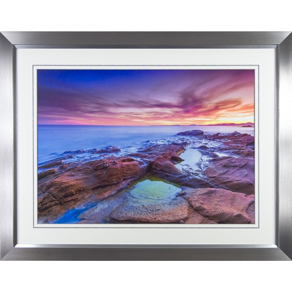 Arnaud Bertrande - Light Storm II Framed Print