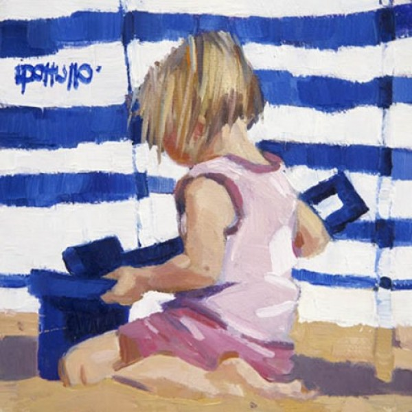 Lin Pattullo - Blue Stripes