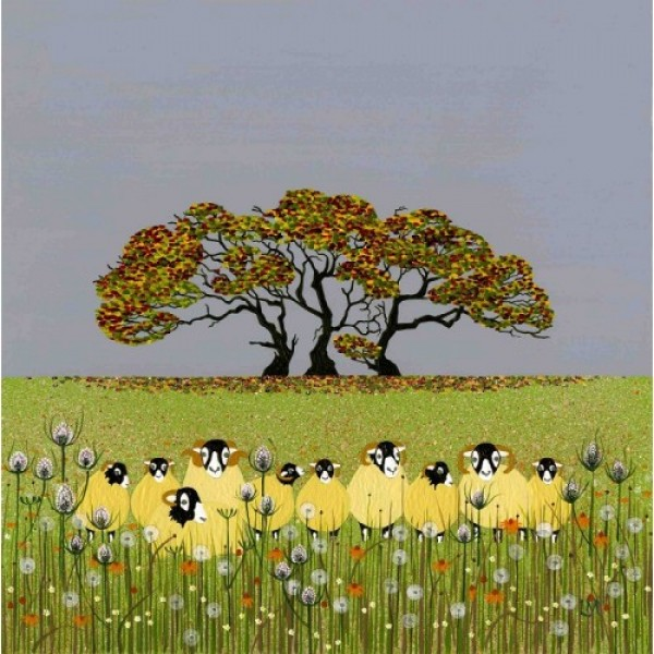 Linda Mellin - Autumn Sheep