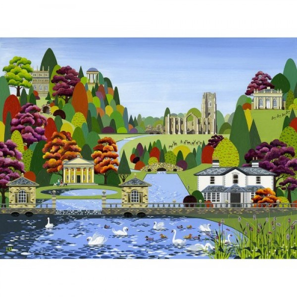 Linda Mellin - Fountains Abbey (Large)