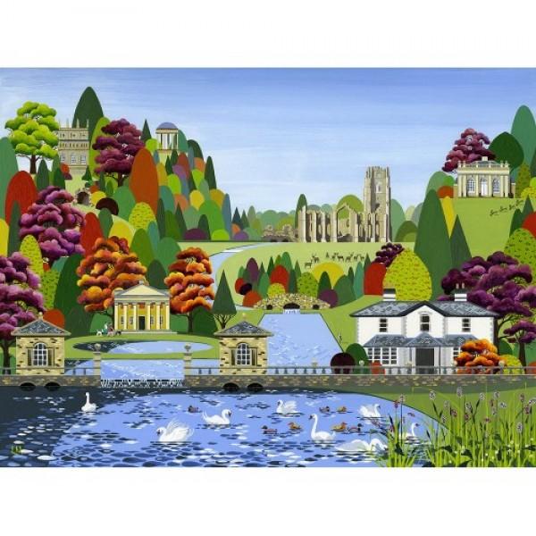 Linda Mellin - Fountains Abbey (Small)