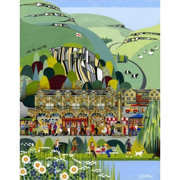 Linda Mellin - Settle (Small)