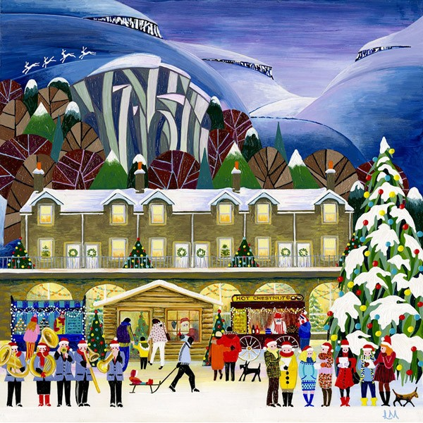 Linda Mellin - Settle at Christmas (Large)