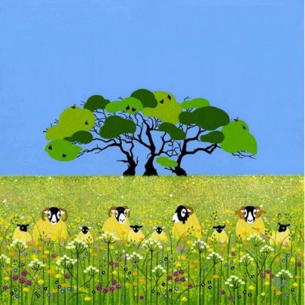 Linda Mellin - Summer Sheep