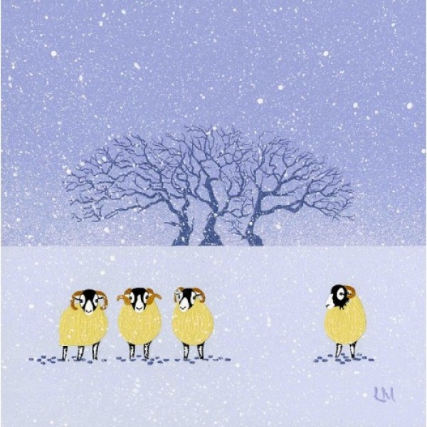 Linda Mellin - Winter Sheep
