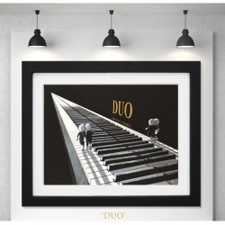 Mark Grieves - New Limited Edition Print - Duo