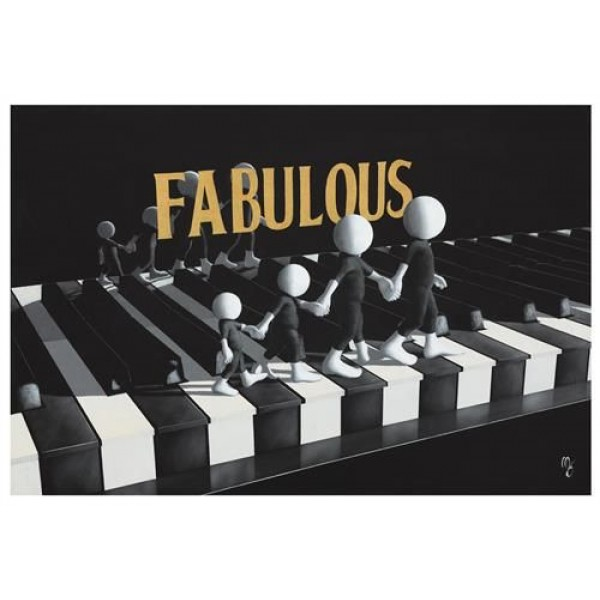 Mark Grieves - Fabulous (Canvas)