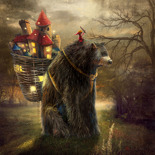 Matylda Konecka - A Bear Who Carried a Kingdom