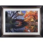 Michael Chen - Central Park Autumn Framed Print