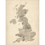 Michael Tompsett - Great Britain UK Old Sheet Music Map