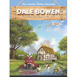 Art News - Mr. Toad's Disastrous Day Out - New Dale Bowen Print