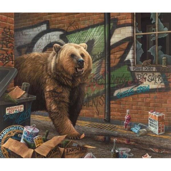 Paul James - Grizzly (Canvas)