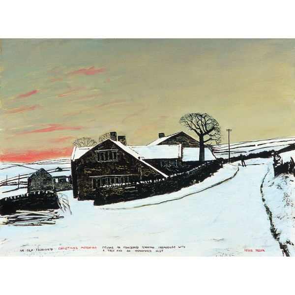 Peter Brook RBA - An Old Fashioned Christmas Morning