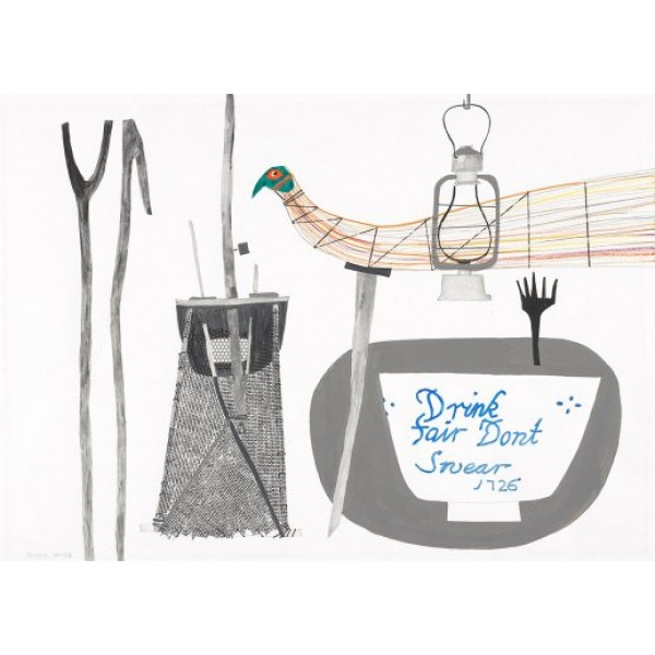 Peter Yates - Elver Net, Elver Sticks and Haystack Bird