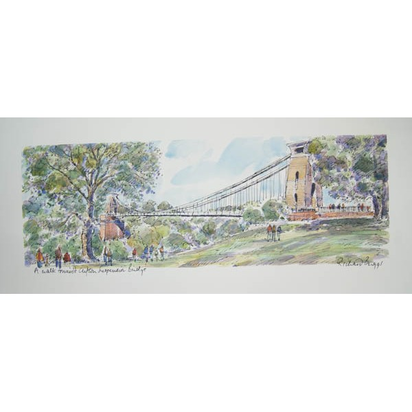 Richard Briggs - A walk towards Clifton Suspension Bridge