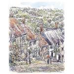 Richard Briggs - Wiltshire, Gold Hill Shaftesbury
