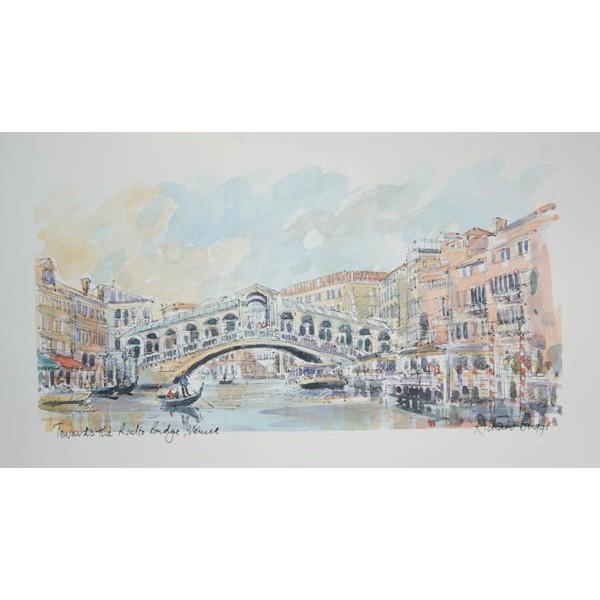 Richard Briggs - Towards the Rialto Bridge