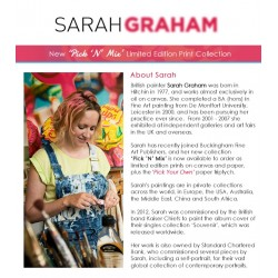 Sarah Graham - New 'Pick 'N' Mix' Limited Edition Collection