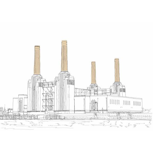 Simon Harmer - Battersea Power Station River View