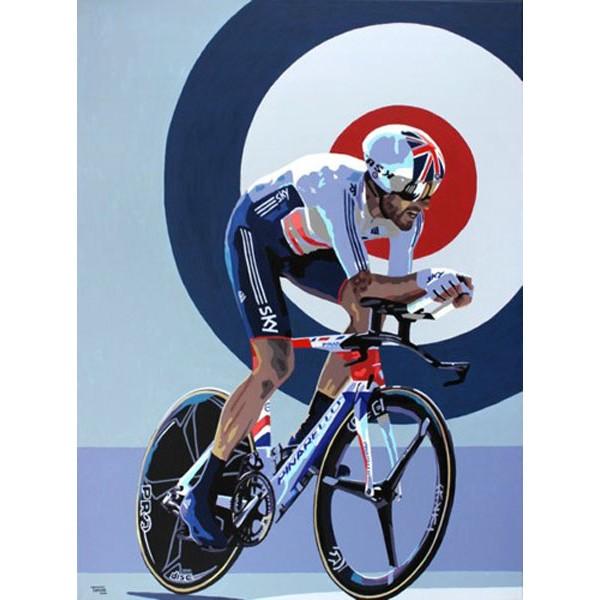 Simon Taylor - Bradley Wiggins World Champion