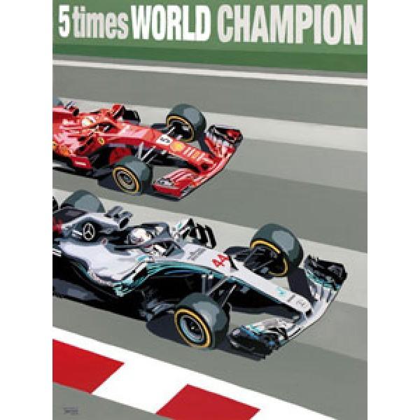 Simon Taylor - Lewis Hamilton - Five Times World Champion