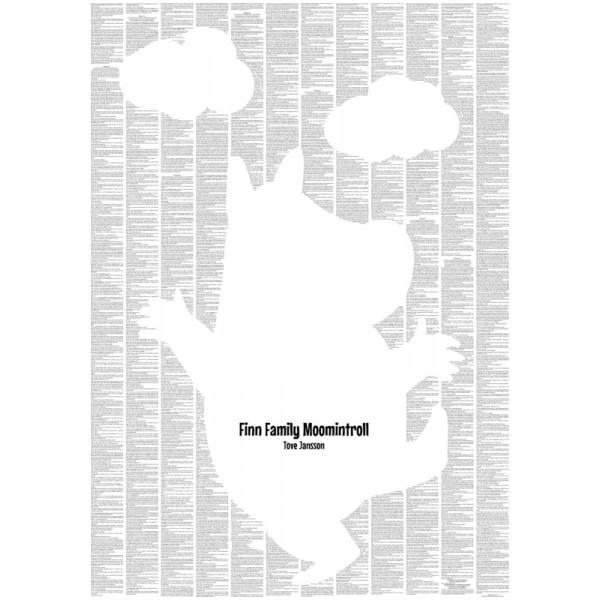 Finn Family Moomintroll (Clouds Design)