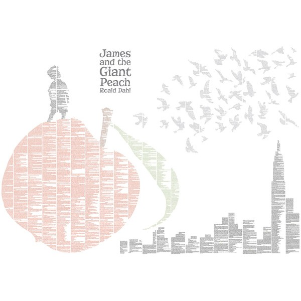 James and the Giant Peach (Colour Seagulls)