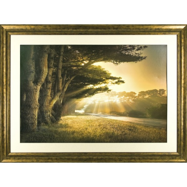William Vanscoy - No Place To Fall Framed Print